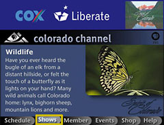 Colorado Channel: Programs