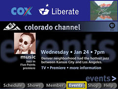 Colorado Channel: Events