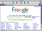 Google's Froogle Search Directory of Shops