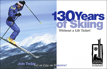 Colorado Ski Museum Ad