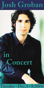 Website Ad: Josh Groban